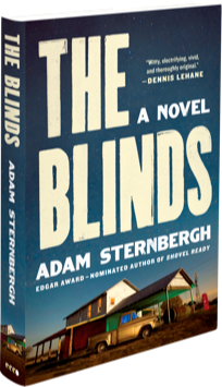 Book cover for The Blinds: A Novel by Adam Sternbergh